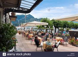 lakefront terrace bar of the hotel metropole bellagio lake como