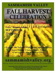 harvest thanksgiving service sammamish valley fall harvest celebration sept 22 24 2017
