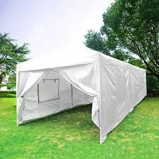 Steel Pop Up Gazebo Waterproof by Quictent 10x20 Feet Screen Curtain Ez Pop Up Canopy Party Tent