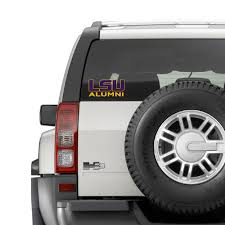 lsu alumni sticker lsu tigers alumni decal