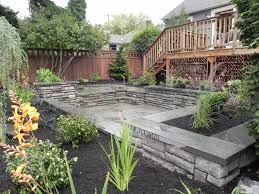 effective landscaping ideas around patio dream houses