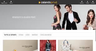 zalando si e social zalando privé ecco come funziona il nuovo sito di vendite