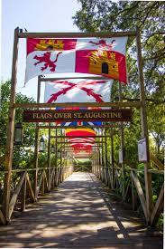 Flags Of Florida Weekend Getaway In St Augustine Florida Blueskytraveler Com