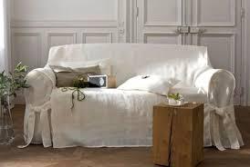 housse canapé blanc housse de canap 3 places affordable housse pour canape places