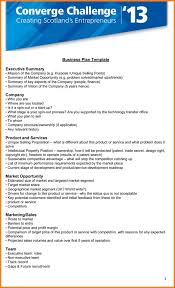 7 executive summary template microsoft word ledger page