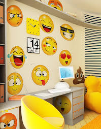 wall graphics large emoji faces wall decal sticker 6052