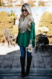 4 simple but stylish thanksgiving ideas fringe scarf