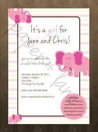 all about baby shower invitations for girls u2014 liviroom decors