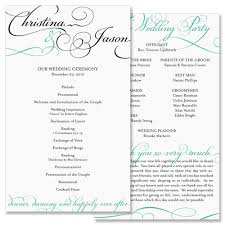 programs for a wedding ceremony do i need a wedding program the wedding printer