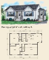Maple Leaf Square Floor Plans by 1153 Bungalow Maple Leaf Homes