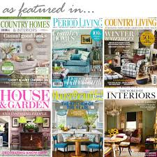 Country Homes And Interiors Magazine by The Braided Rug Company