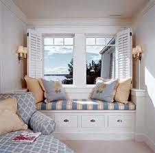 Modern Mediterranean Interior Design Bay Window Sofa Home Decor Cool Teen Rooms Floor Painting Ideas