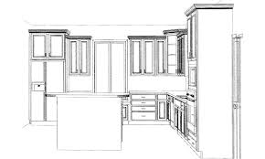 comely l shape kitchen layout