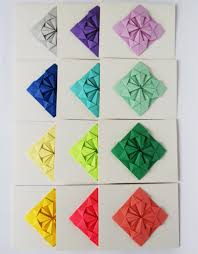 How To Make Origami Greeting Cards - origami origami greeting card make origami cards