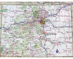 Windsor Colorado Map by Maps Of Colorado State Collection Of Detailed Maps Of Colorado
