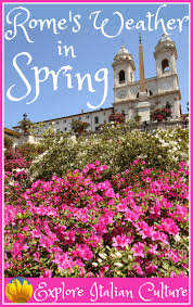 what is spring rome s climate in spring
