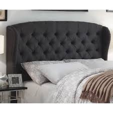 darby home co halsey upholstered wingback headboard walmart com