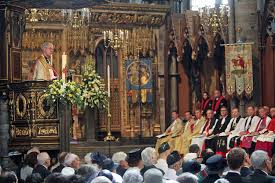 archbishop preaches at ve day anniversary service