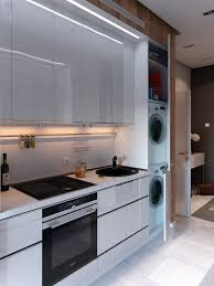 Designing Kitchens In Small Spaces Bold Decor In Small Spaces 3 Homes Under 50 Square Meters