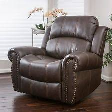 Leather Reclining Chairs Recliner Furniture Ebay