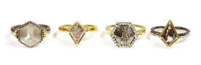 unconventional engagement rings meaghan hennelly s takes an unconventional yet symbolic approach