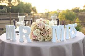 mr and mrs table decoration decor help pictures included