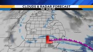 Weather Map Chicago by Metro Detroit Weather Snow Advisory In Effect Overnight