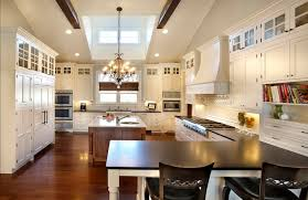 Floor To Ceiling Kitchen Cabinets 42 Kitchens With Vaulted Ceilings Home Stratosphere