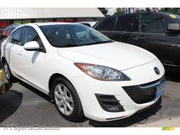 mazda 4 door cars 2010 mazda mazda3 i touring 4 door in crystal white pearl mica