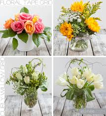 how to make flower arrangements easy diy flower arrangement using and curly willow the elli