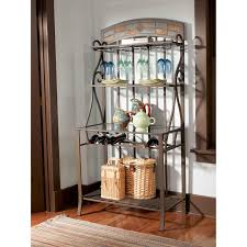 Pier One Bakers Rack How To Decorate Iron Bakers Racks Decorative Furniture