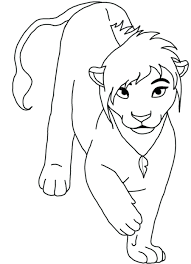 lion king coloring pages mufasa sheets printable kovu lion king 2