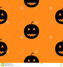 free halloween orange background pumpkin black silhouette funny smiling pumpkins cute cartoon baby