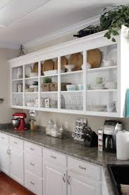 kitchen cabinet ideas without doors 10 ideas open kitchen cabinets no doors trend home design