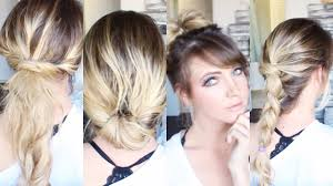 quick hairstyle hacks youtube