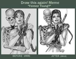 Before And After Meme - before and after meme forever young by forty fathoms on deviantart