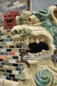 shisa statues shisa statue stock photo getty images