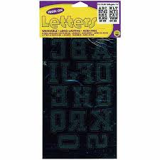 buy dritz iron on sequin letters 1 u0026quot block gold in cheap