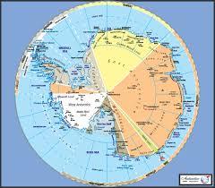 Map Of Antarctica As Ogman01 Antarctica Political Map Graphic Education
