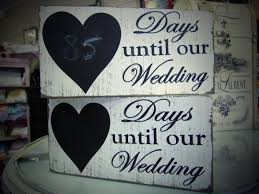 Wedding Countdown Wedding Countdown Signs The Weathered Home Morganton Nc