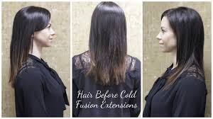 layered extensions if you t tried cold fusion hair extensions yet we can t be