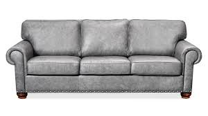 Leather Sofas For Sale Grey Highlander November Sky Leather Sofa