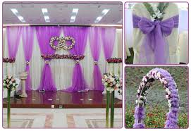 wedding arch backdrop wholesale colorful gauze for wedding arch chair party stage
