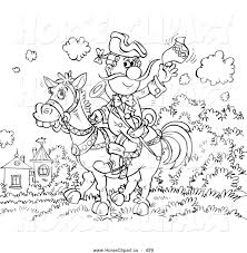 royalty free stock horse designs of coloring pages