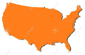 United States America Map by Political Map Of The United States With The Several States