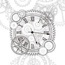 clockwork gears drawing google search zentangle patterns