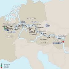 Physical Map Of Europe Rivers by Central European River Cruise Avalon Waterways