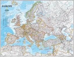 Europe Map by Europe
