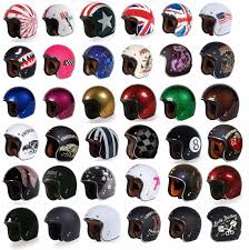 ladies motorcycle helmet 3 4 helmet ebay