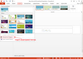 design template powerpoint 2013 how to create a banner in